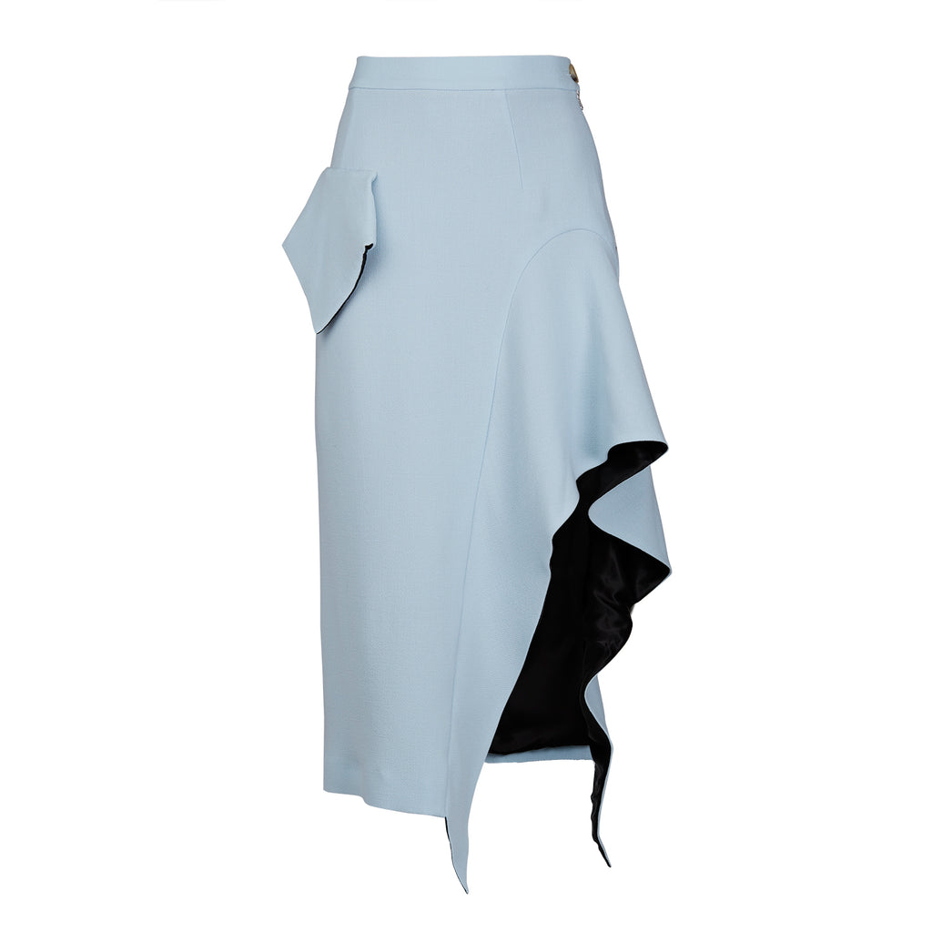 Walk of Shame Crepe Skirt