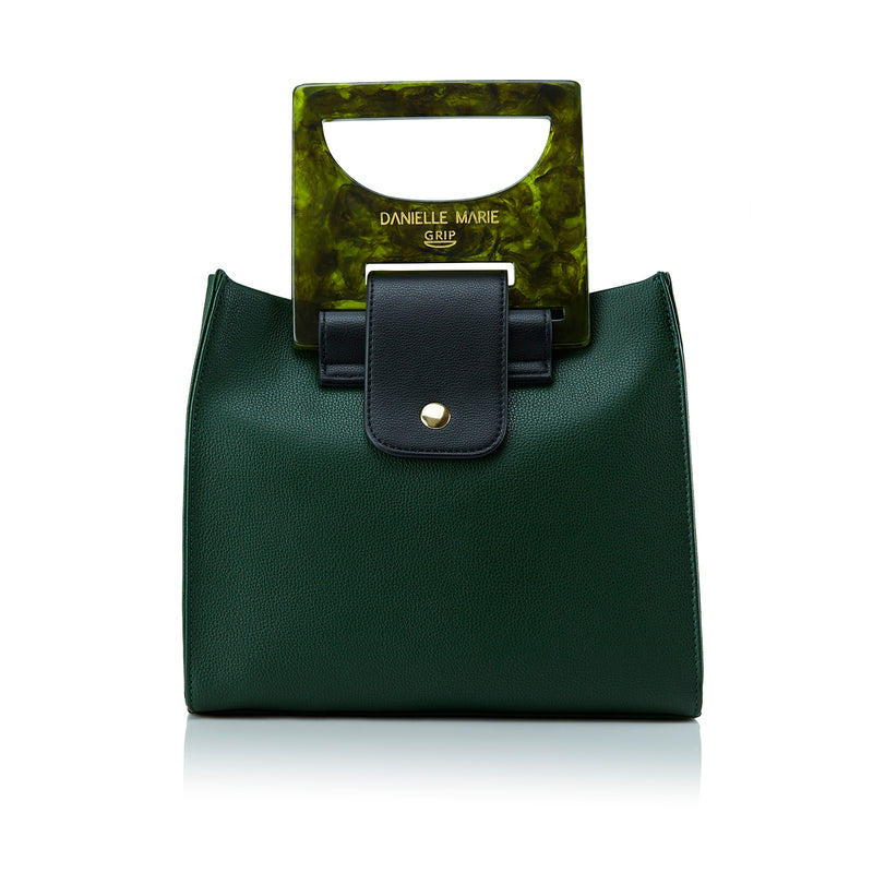 Grip Handbags HANNA Shopper Bag - Forest Green