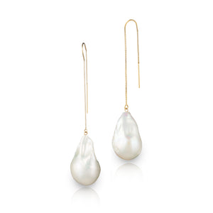 Jean Joaillerie 14 - Karat Gold Baroque Freshwater Pearl Earrings