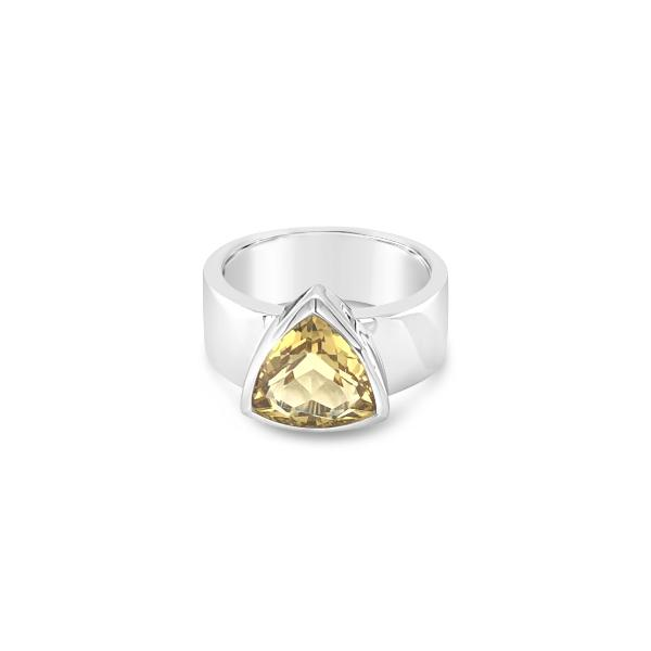 ELVERD DESIGNS Havana Ring Yellow Citrine