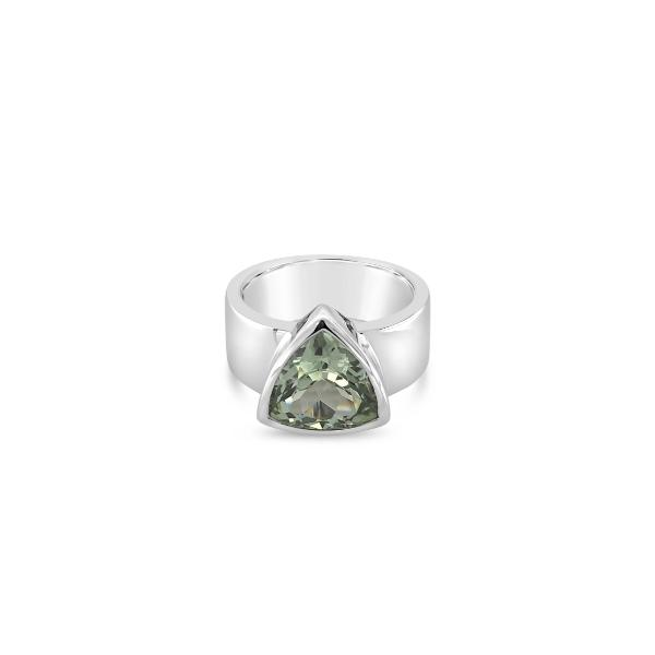 ELVERD DESIGNS Havana Ring Green Amethyst