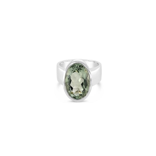 ELVERD DESIGNS Soho Ring Green Amethyst