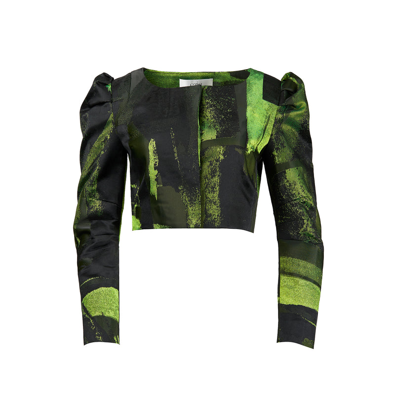 Ezie Designs Abstract Green Jacket