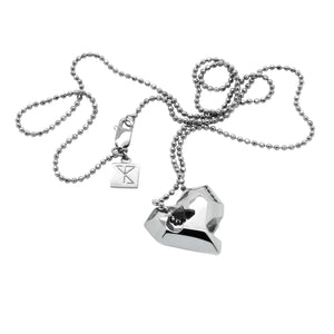 Sheinfeld Rodriguez Full Heart Pendant-Necklaces-DREEMS