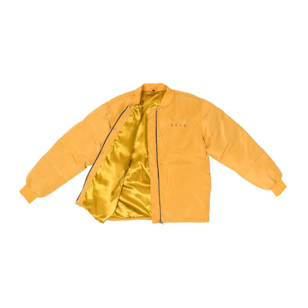 GOSN YELLOW PUFFY JACKET