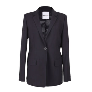 Monica & Mobline Single Button Tailored Jacket Navy