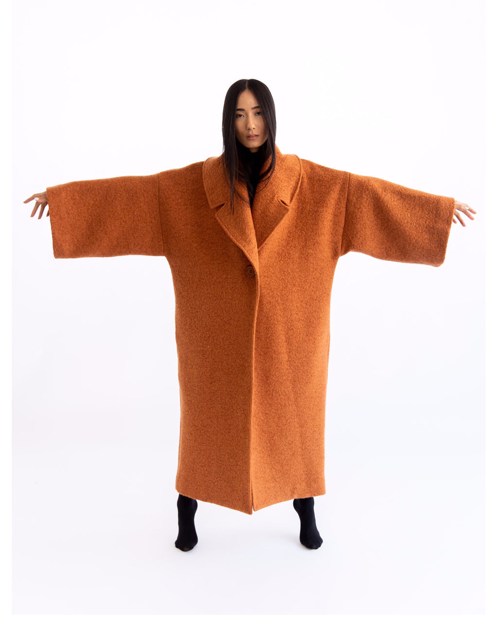 Chestnut Blanket Coat