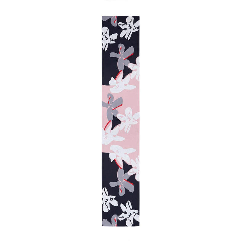 SABINNA Abstract Flower Scarf