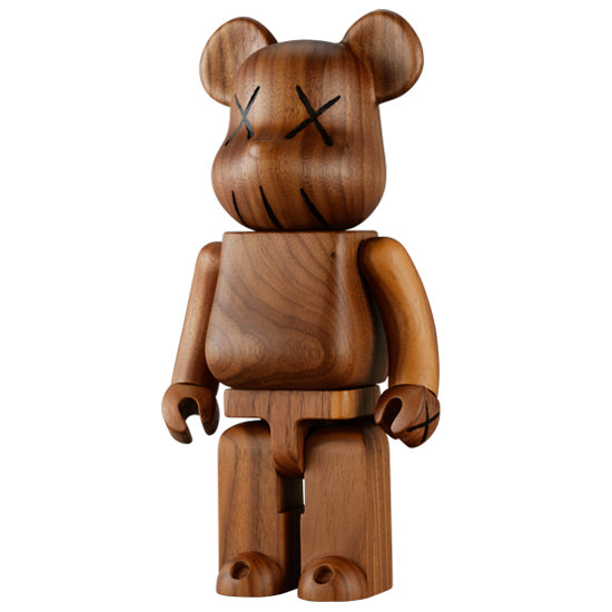 2005 Wood Bearbrick-Art-DREEMS