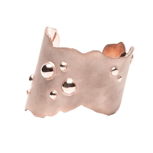 Sterling King Bubble Cuff