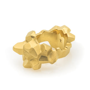Sheinfeld Rodriguez Nugget Ring-Rings-DREEMS