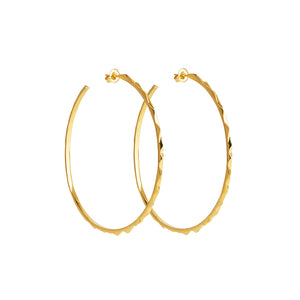 Soledad Lowe Reckon Extra Large Hoops