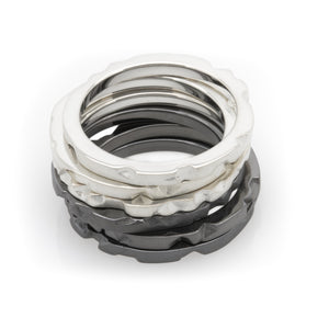 Sheinfeld Rodriguez Tern 3 Stacking Rings