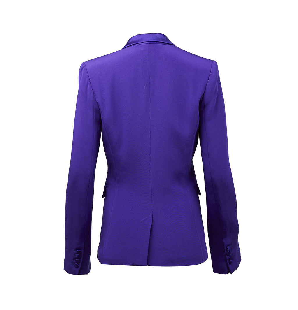 Gemma Suit Blazer-Purple