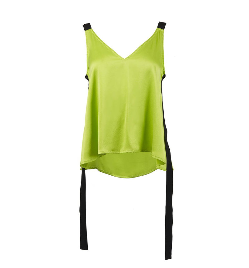 Silk Top Green