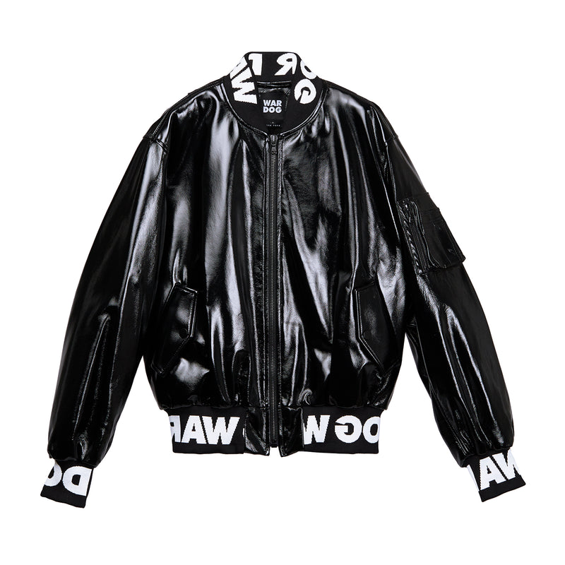 Wardog Leather Bomber Jacket