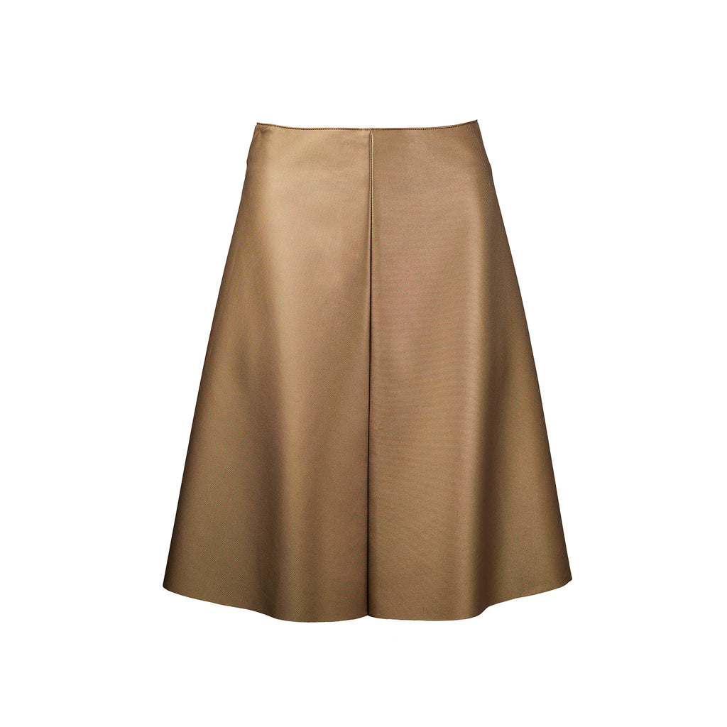 Whispering Wind Artificial Leather Skirt