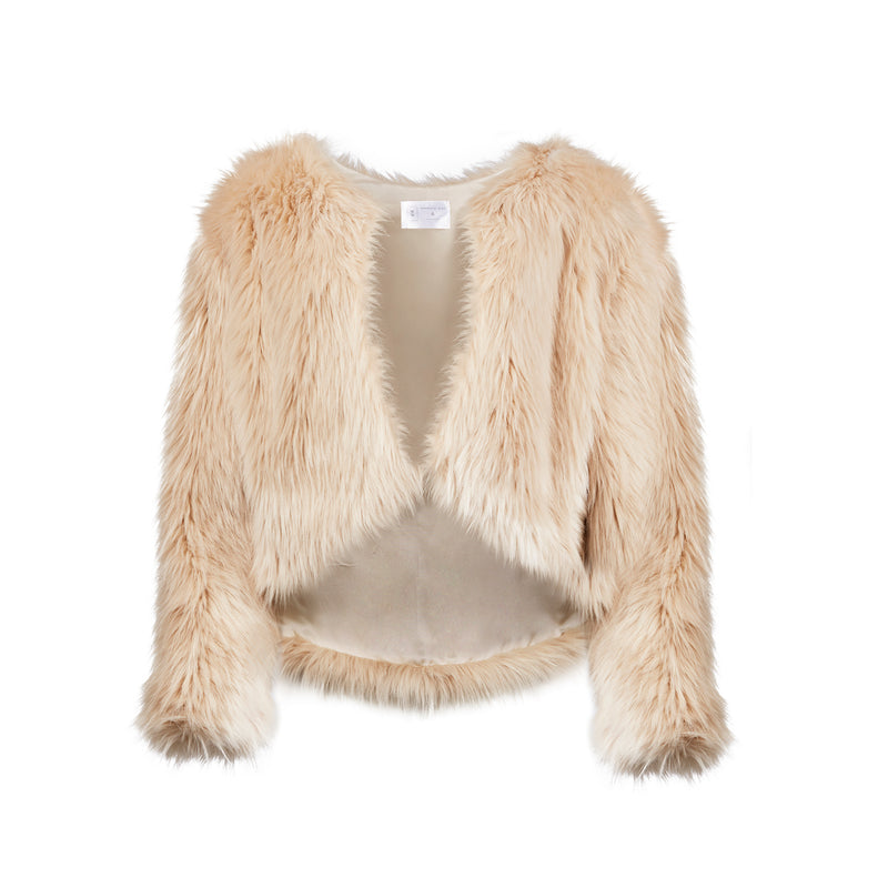 Whispering Wind Faux Fur Coat