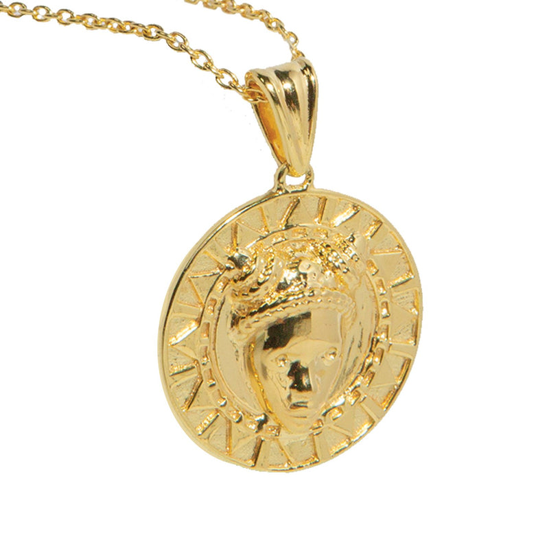 Adore Adorn Reava Coin Necklace-Necklaces-DREEMS