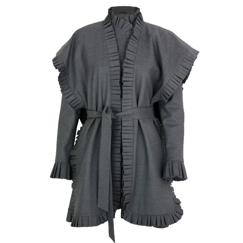 Alima Jacket-Dress with Cape-Dresses-DREEMS