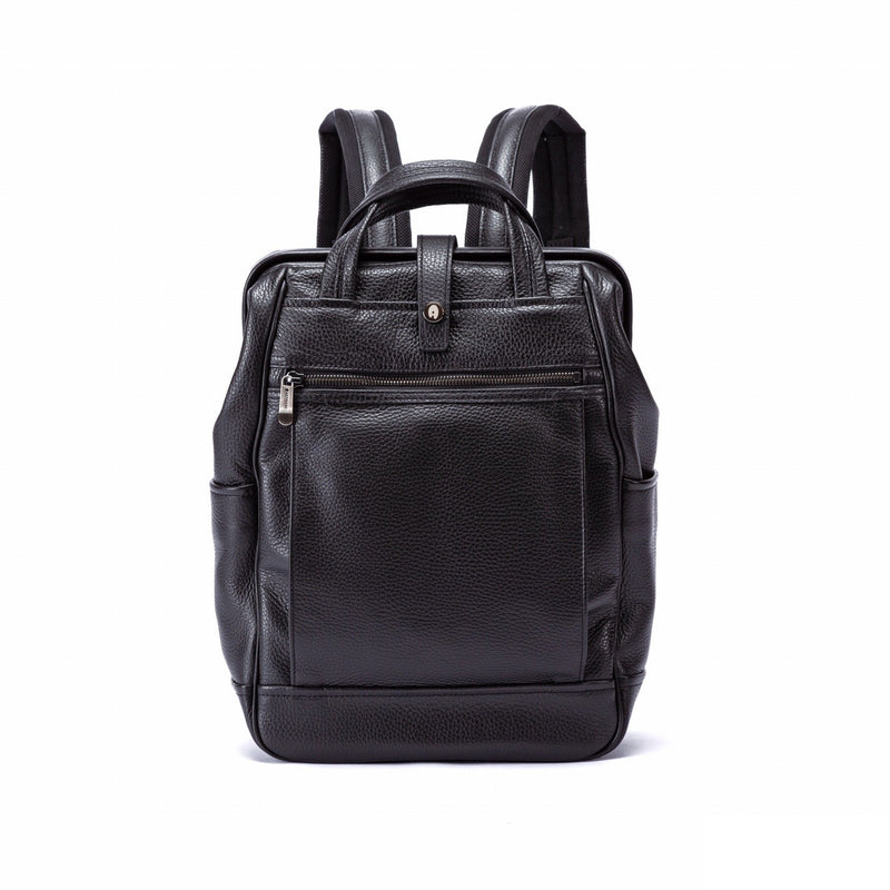 ARTPHERE Cavallo Traveler Backpack Small Black-Bags-DREEMS