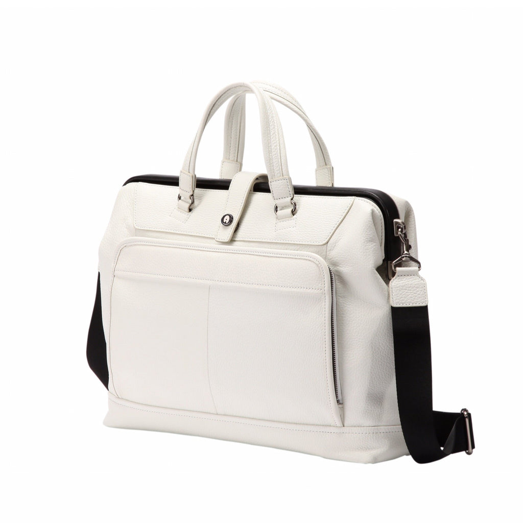 ARTPHERE Cavallo Traveler Brief Case White
