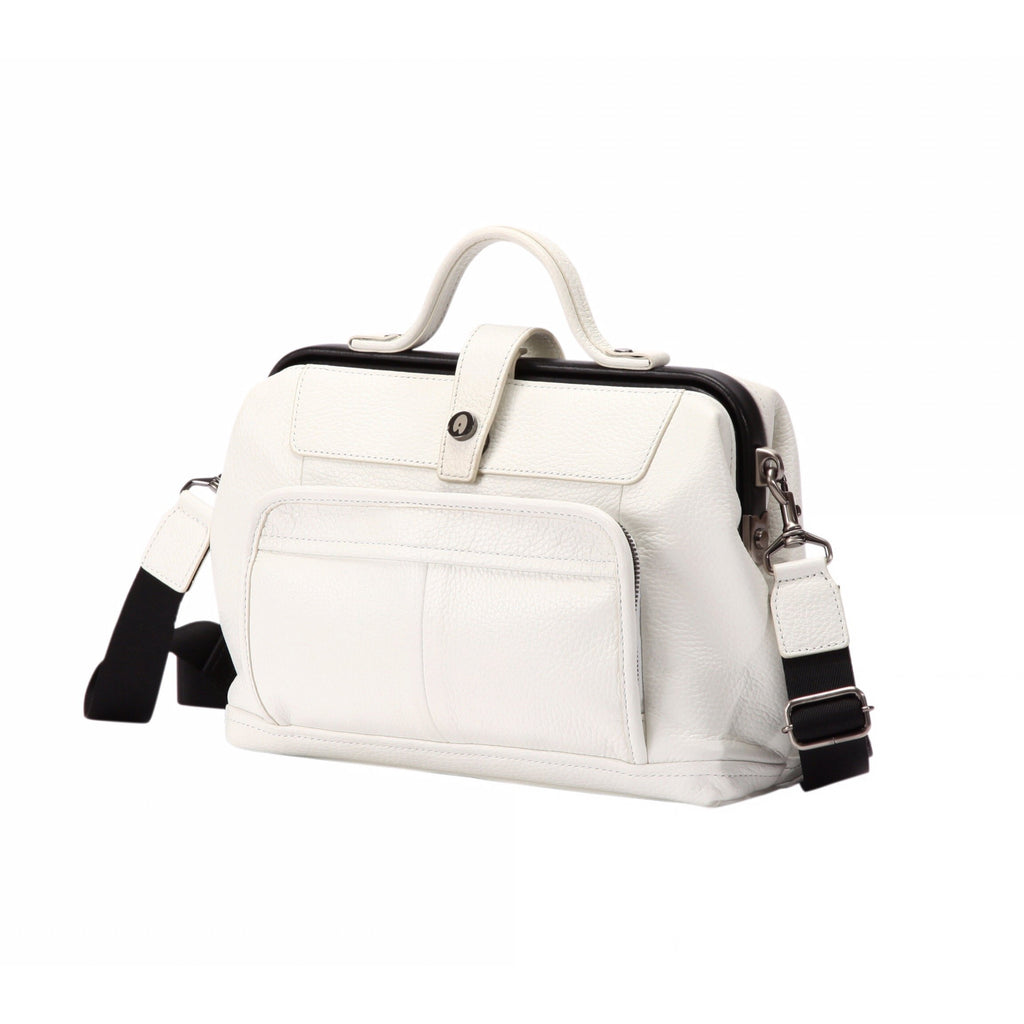 ARTPHERE Cavallo Traveler Shoulder Bag White