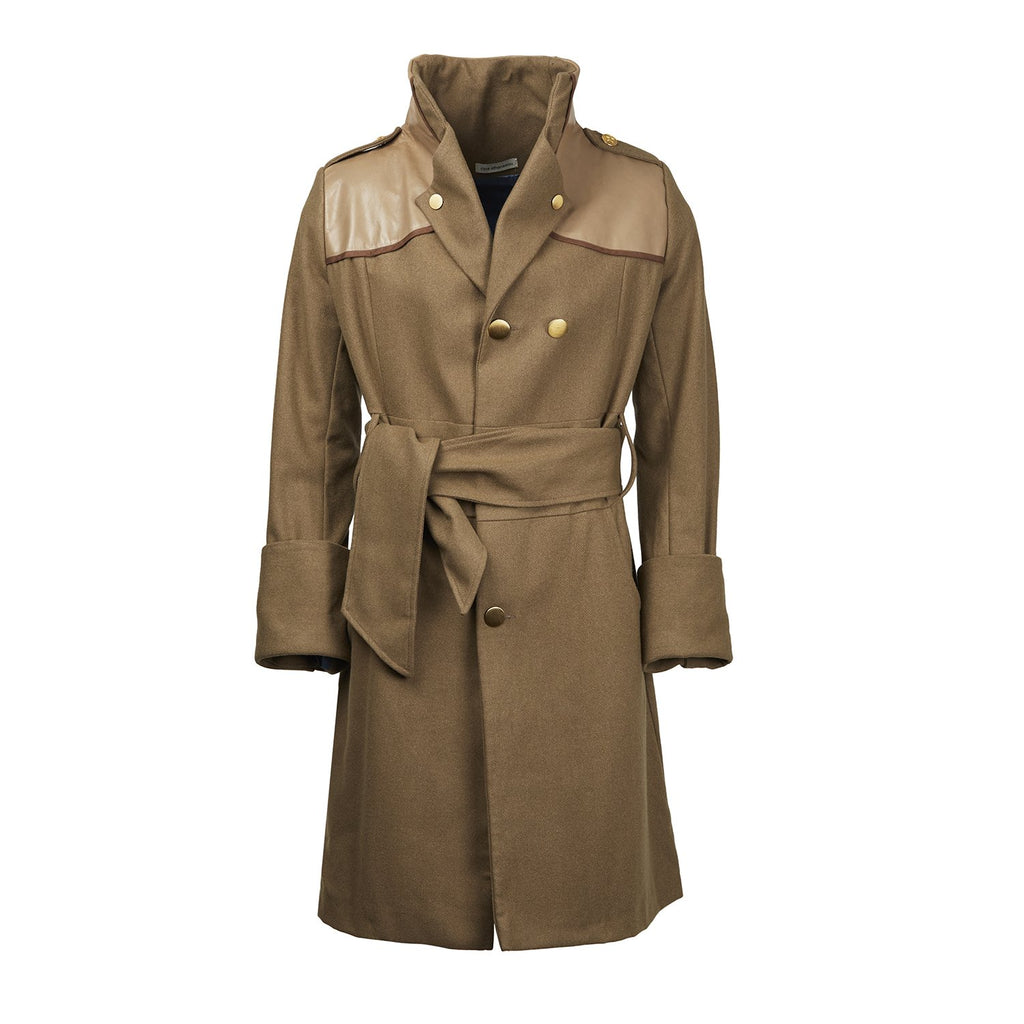 ATHANASIOU Military Coat-Coats-DREEMS