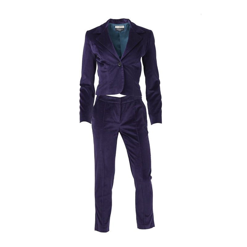 ATHANASIOU Velvet Suit-Outerwear-DREEMS