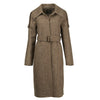 Carol Cao Coffee Army Wool Coat-Coats-DREEMS