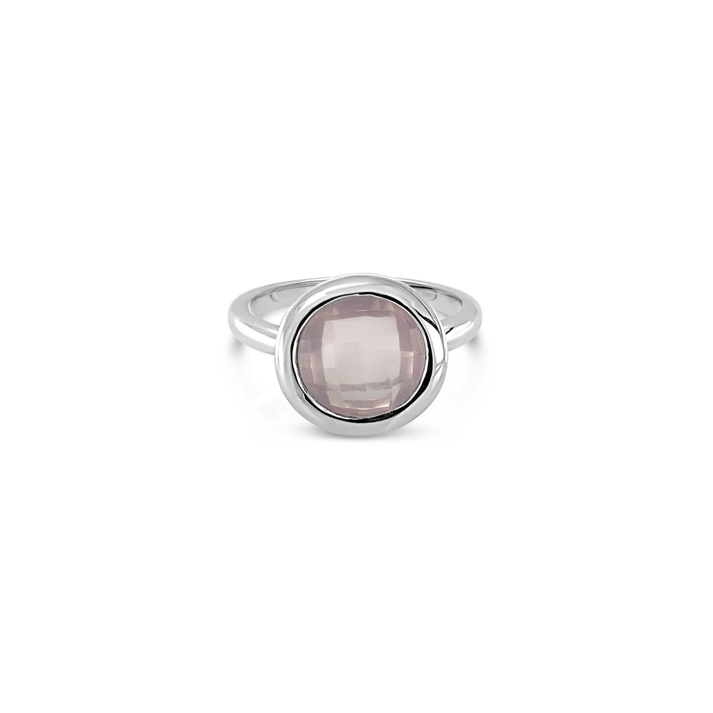 ELVERD DESIGNS Bloom Ring Rose Quartz