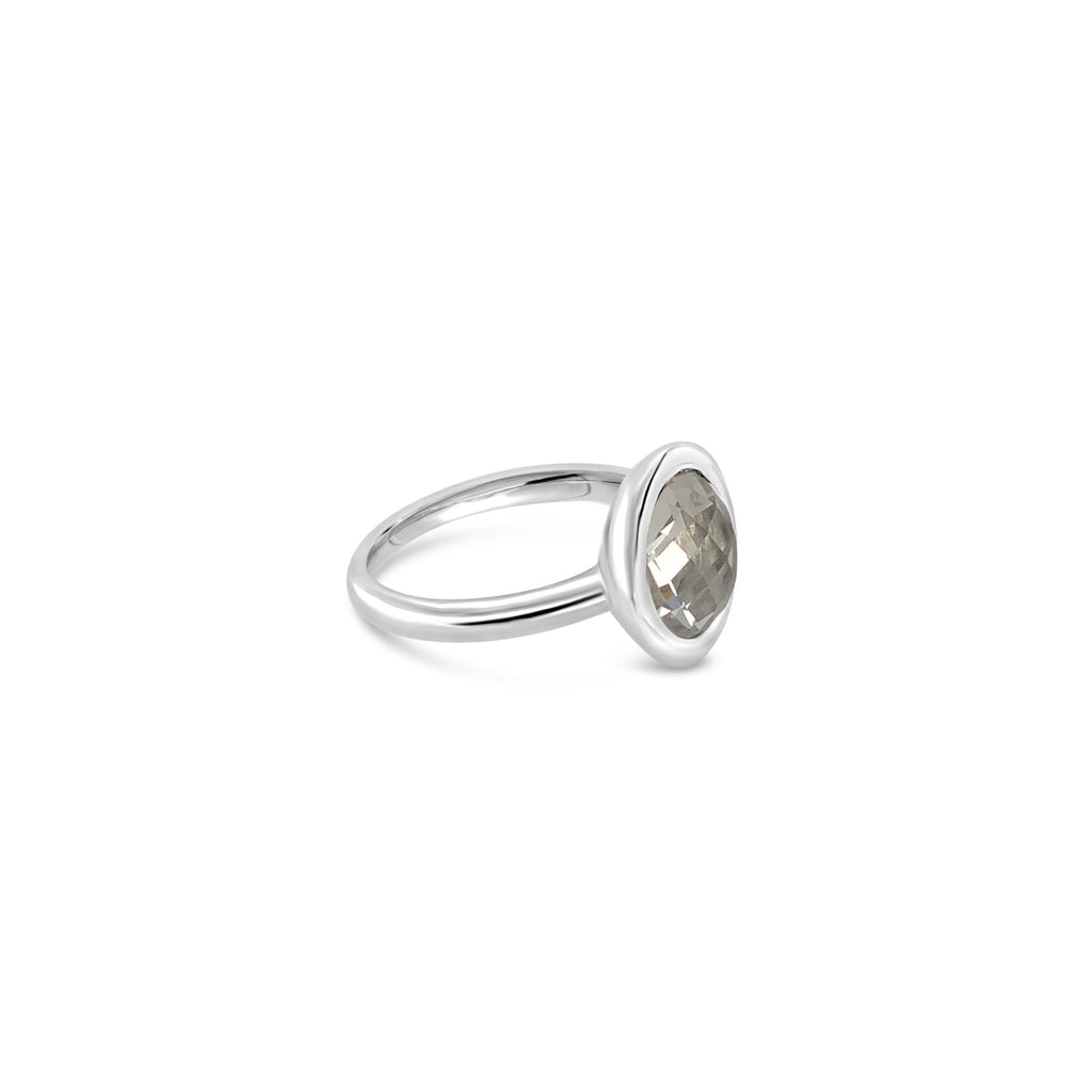 ELVERD DESIGNS Bloom Ring White Quartz-Rings-Elverd Designs-DREEMS