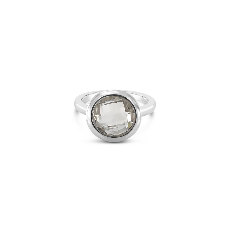 ELVERD DESIGNS Bloom Ring White Quartz