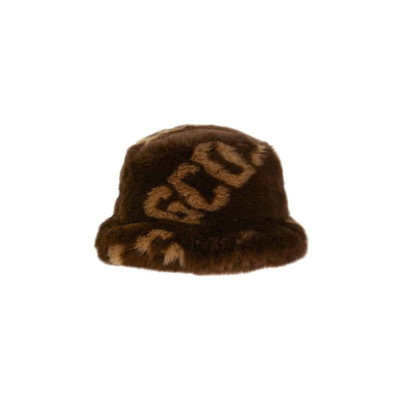 GCDS Fur Fisherman Hat