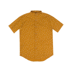 GOSN Dragonfly SS Yellow Button Down-M-Shirt-DREEMS