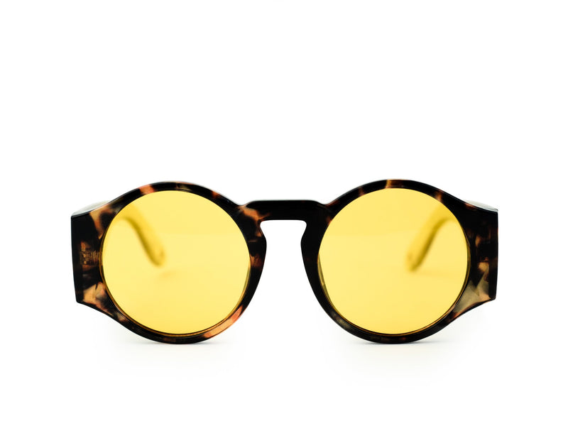 GOSN Nova Sunglasses Yellow Tortoise-Sunglasses-DREEMS