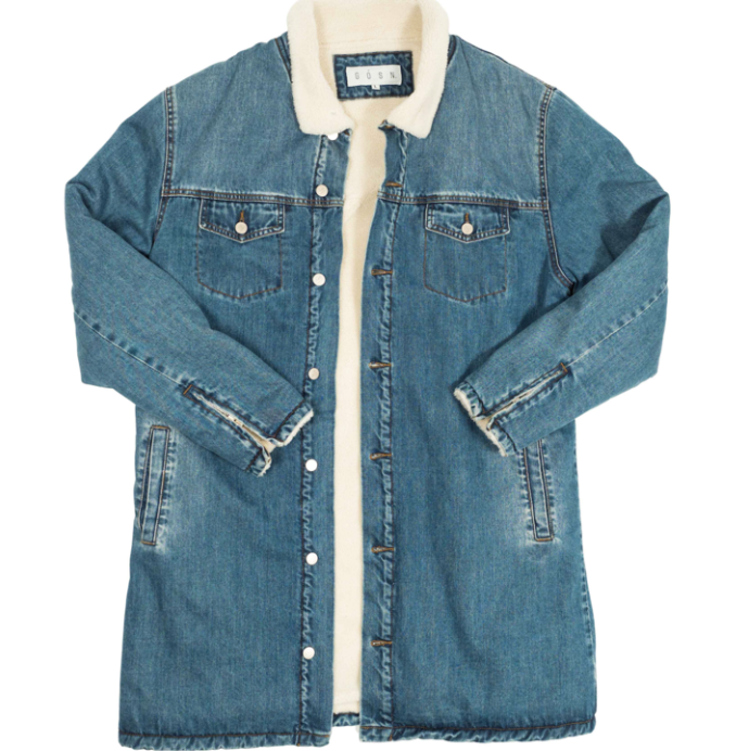 GOSN Wester Denim Coat