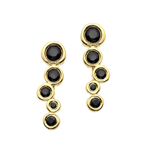 Hi June Parker Black Diamond Earring-Earrings-DREEMS