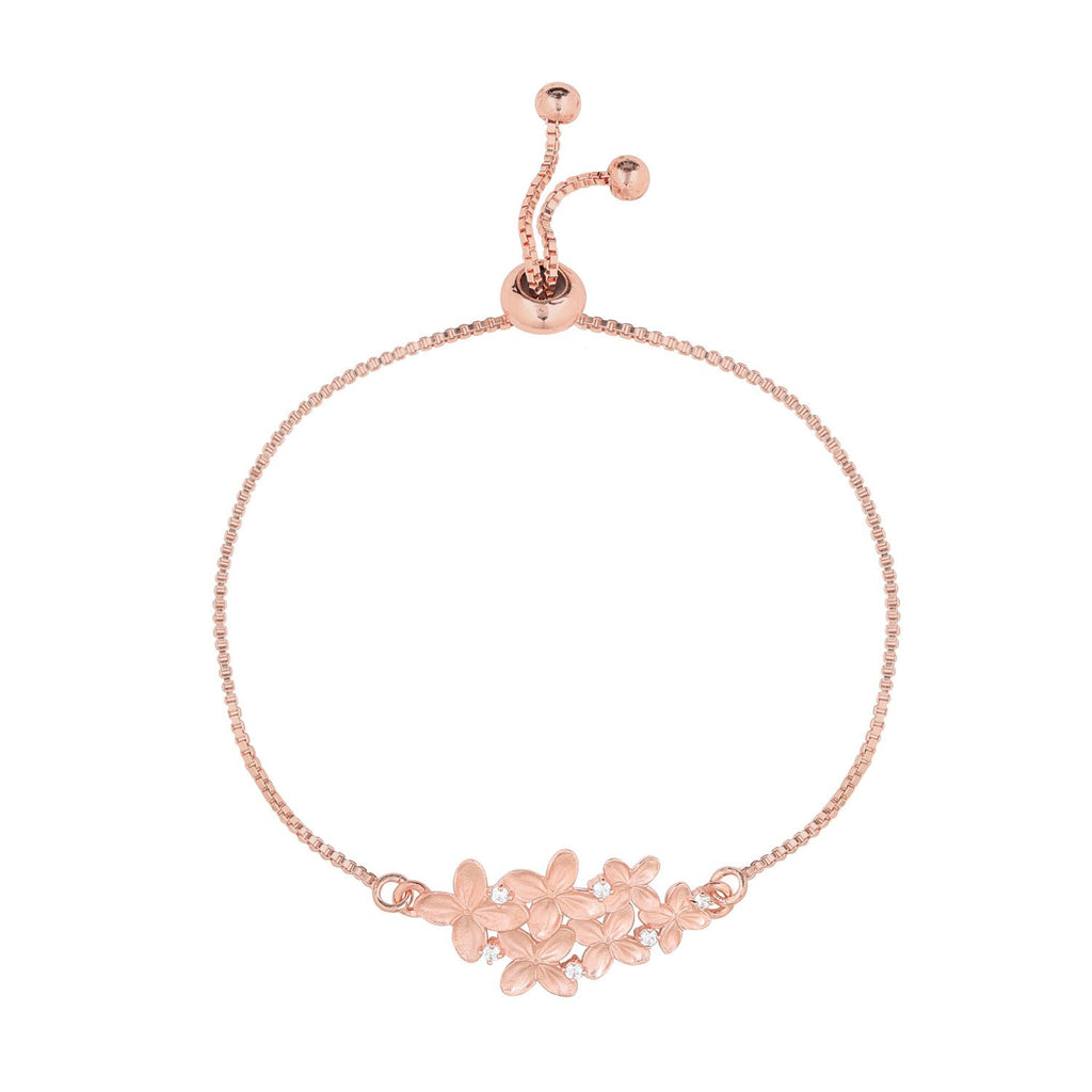 [in]trigue Reminisce Ixora Bracelet – Rose Gold-Bracelets-DREEMS