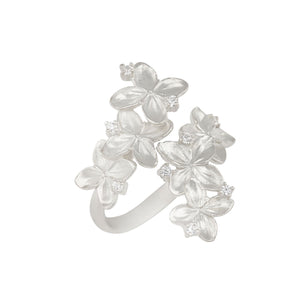 [in]trigue Reminisce Ixora Ring - Silver-Rings-DREEMS