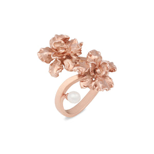 [in]trigue Reminisce Orchid Duo Ring - Rose Gold-Rings-DREEMS