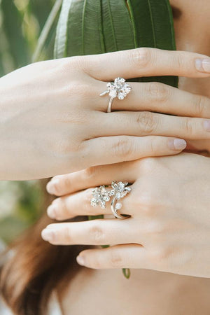 [in]trigue Reminisce Orchid Ring - Rose Gold-Rings-DREEMS