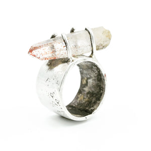 JILL. HERLANDS Disco Quartz Ring-Rings-DREEMS