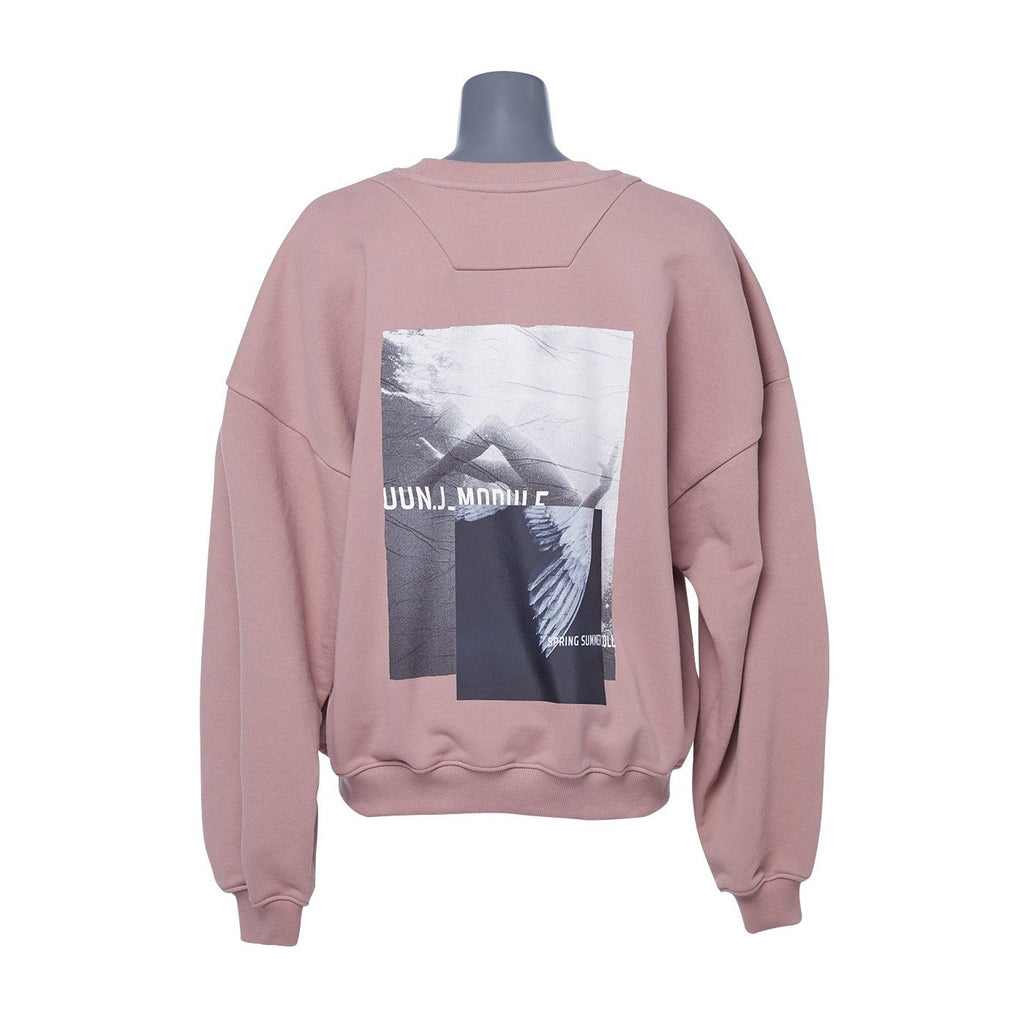 Juun.J Artwork Pink Sweatshirt