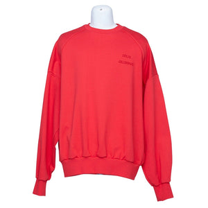 Juun.J Red Sweatshirt