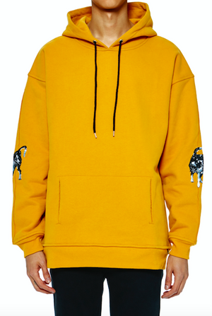 Khoman Room Rival Dogs Embroidered Hoodie-Hoodie-DREEMS
