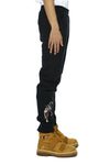 Khoman Room Rival Dogs Embroidered Joggers-Pants-DREEMS