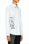 Khoman Room Sacred Hands Button Down Shirt-Shirts-DREEMS