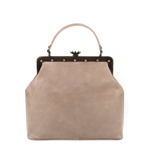 LaLaQueen Dr. Exclusive Handbag Grey-Bags-DREEMS