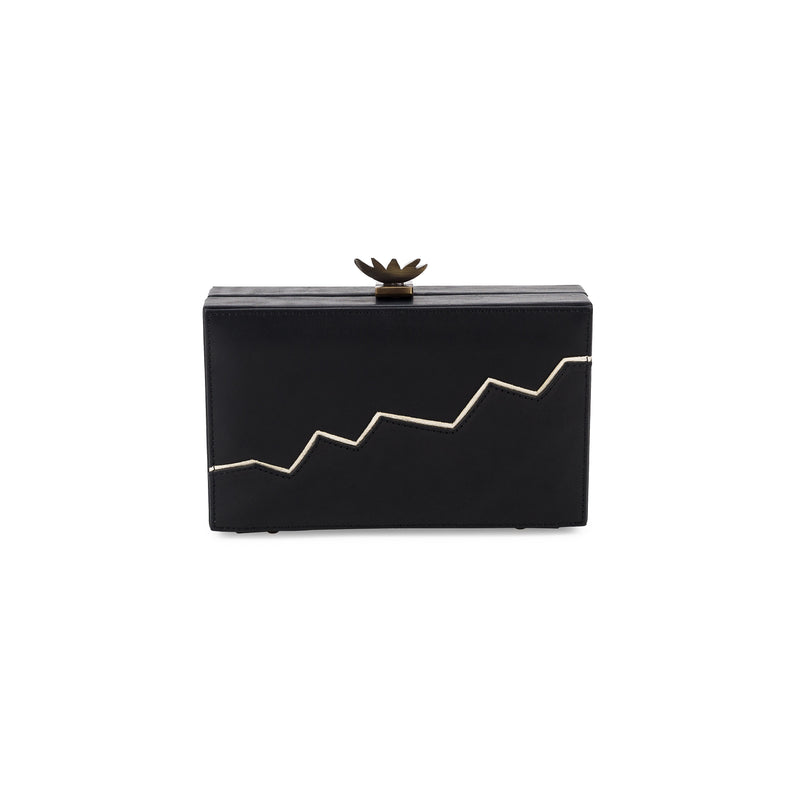 LaLaQueen Pulse Clutch Black-Bags-DREEMS